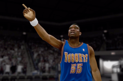 350c5dda1add Dikembe Mutombo in the NBA 2K12 Introduction Video