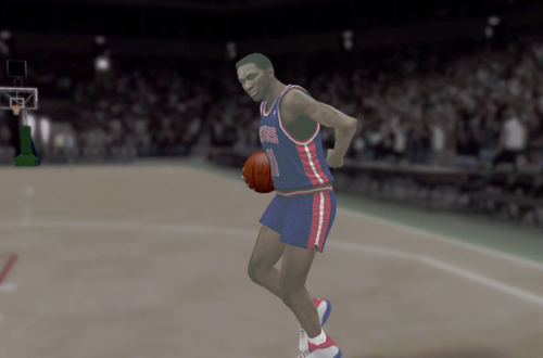 Isiah Thomas in the NBA 2K12 Introduction Video