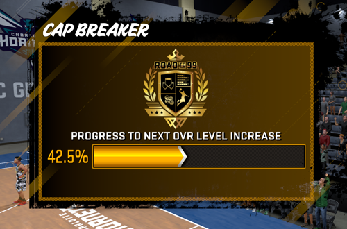 Cap Breaker Meter in NBA 2K18