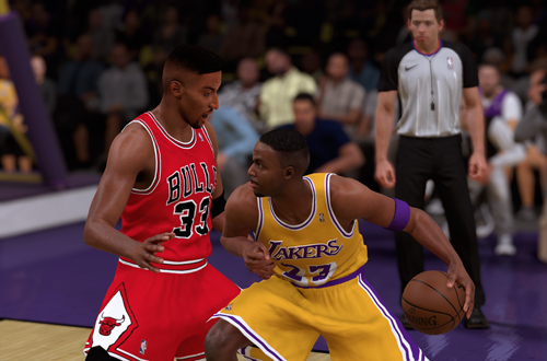 Retro Teams Ideas: 1996 Lakers (Cedric Ceballos, NBA 2K18)