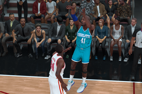 Retro Teams Ideas: 1997 Hornets (Glen Rice, NBA 2K18)