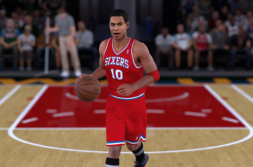 Retro Teams Ideas: 1983 76ers (Maurice Cheeks, NBA 2K18)