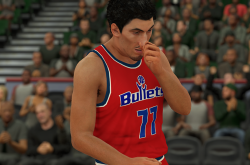 Community Uploads Expand Content in NBA 2K (Gheorghe Muresan, NBA 2K18)