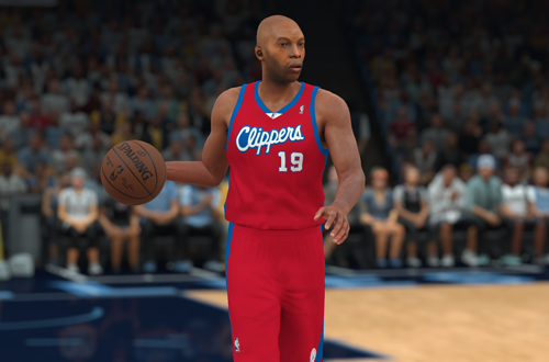 Retro Teams Ideas: 2006 Clippers (Sam Cassell, NBA 2K18)