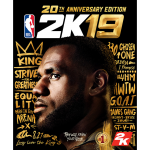 NBA 2K19 20th Anniversary Cover Art