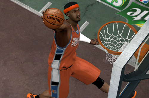 Dunk Contest in NBA 2K9