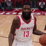 NBA Live 19: James Harden (Work-In-Progress)
