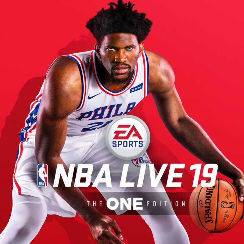 Joel Embiid Revealed as NBA Live 19 Cover Player | NLSC