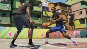 NBA Live 19: Crossover in The Streets