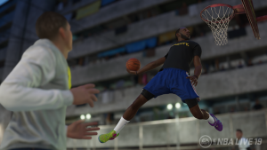 NBA Live 19: Dunking in The Streets