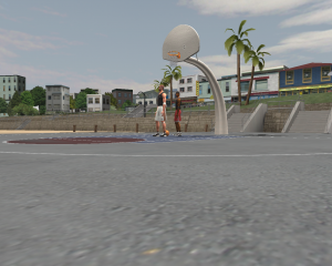 NBA Live 2003 1-on-1 Courts: Beach Court