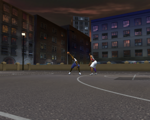 NBA Live 2003 1-on-1 Courts: Urban Court