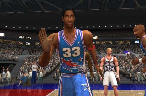 Scottie Pippen on the 90s All-Stars (NBA Live 2003)