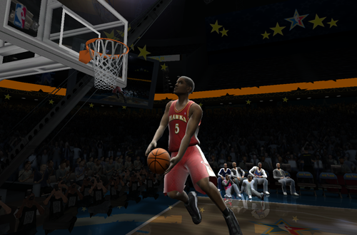 Josh Smith Windmill in the Dunk Contest (NBA Live 2005)