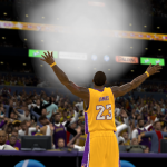 NBA 2K11 Modding Preview: LeBron James Chalk Toss