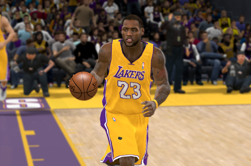 NLSC Current Roster Teaser: LeBron James (NBA 2K11)