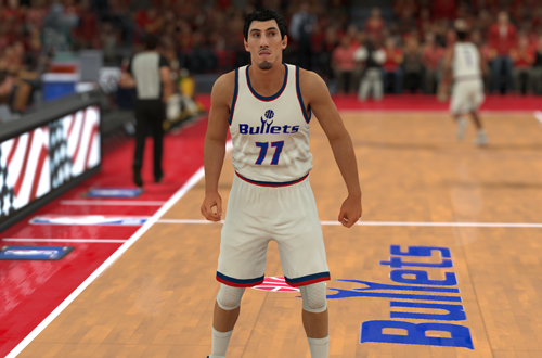 NBA 2K Retro Teams Ideas: 1997 Washington Bullets