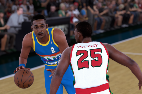 NBA 2K Retro Teams Ideas: 1985 Denver Nuggets