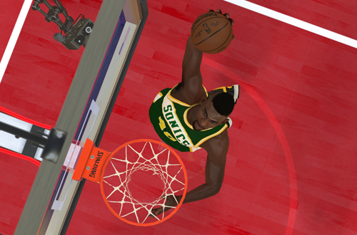 NBA 2K Retro Teams Ideas: 1997 Seattle Supersonics