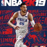 NBA 2K19 Australian Cover featuring Ben Simmons