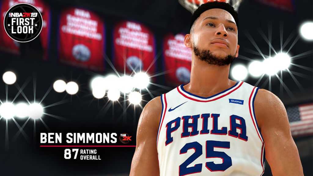 NBA 2K19: Ben Simmons First Look