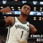 NBA 2K19: D'Angelo Russell First Look