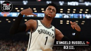 NBA 2K19: D'Angelo Russell First Look