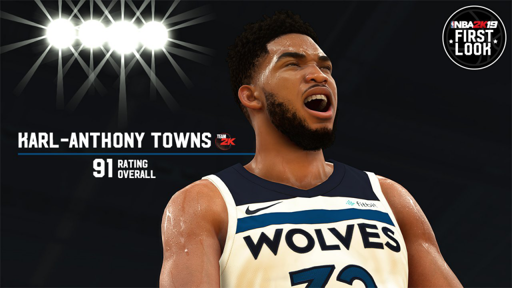NBA 2K19: Karl-Anthony Towns First Look