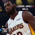 NBA 2K19: LeBron James First Look