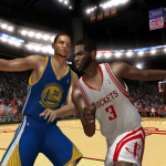 NBA Live 08 Modding Preview: Steph Curry vs. Chris Paul