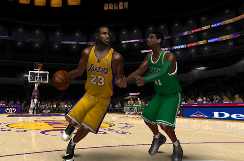 NLSC Currrent Roster Teaser: LeBron James vs. Kyrie Irving (NBA Live 08)