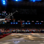 NBA Live 08 Modding Preview: Free Throw Line in Ultimate Jordan