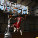 NBA Live 08 Modding Preview: Up and Under Dunk in Ultimate Jordan