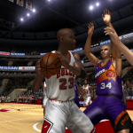 NBA Live 08 Modding Preview: MJ vs Sir Charles in Ultimate Jordan