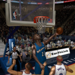 NBA Live 08 Modding Preview: MJ the Wizard in Ultimate Jordan