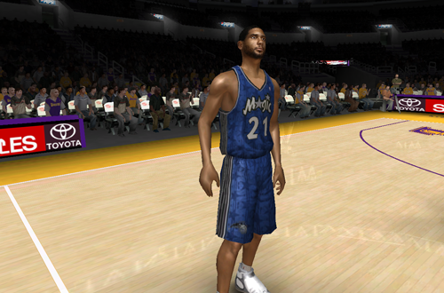 NBA Live 08 Modding Teaser: What If Roster (NBA Live 08)