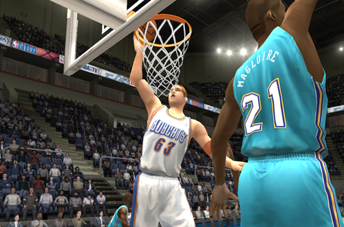 Center Center of the Charlotte Bobcats (NBA Live 2004)