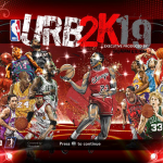 U R Basketball 2K19 Title Screen