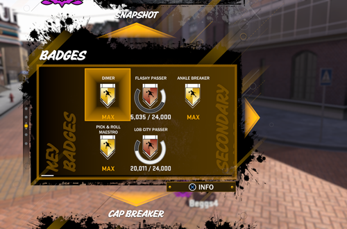 MyPLAYER Badges in NBA 2K18