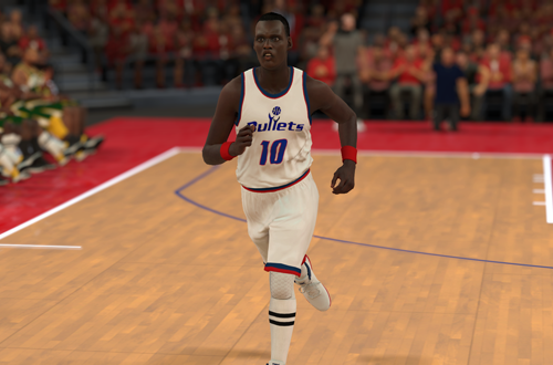 NBA 2K18 Retro Teams Ideas: 1988 Washington Bullets
