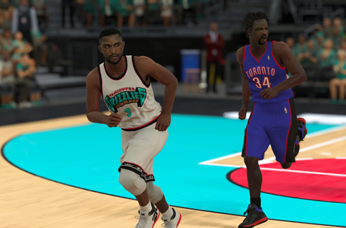 NBA 2K Retro Teams Ideas: 2000 Vancouver Grizzlies