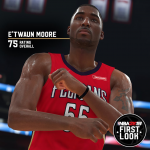 NBA 2K19: E'Twaun Moore First Look