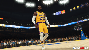 NBA 2K19: LeBron James