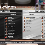 NBA 2K19: All-Star Draft in MyLEAGUE
