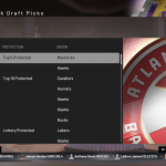 NBA 2K19: Tracking Draft Picks in MyLEAGUE