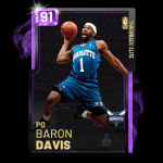 NBA 2K19: Baron Davis Throwback Card in MyTEAM