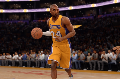 NBA Legends: Kobe Bryant in NBA Live 16