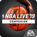 NBA Live 19 Companion App Artwork
