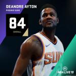 NBA Live 19: Deandre Ayton (84 Overall)
