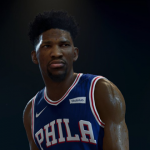 Joel Embiid in NBA Live 19